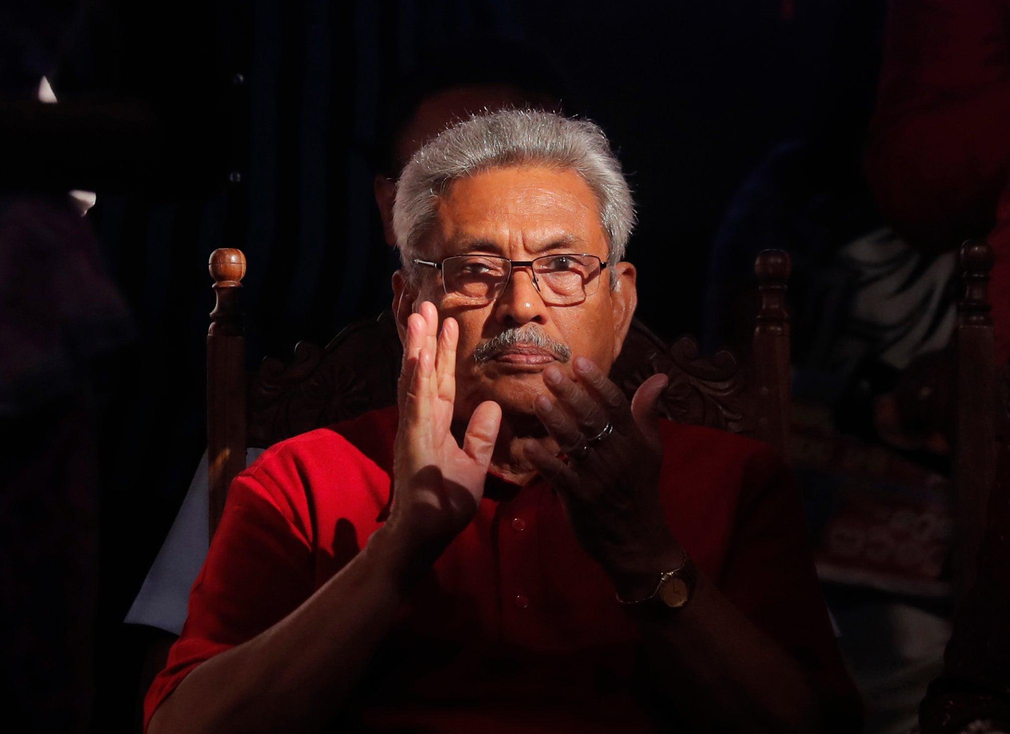 gotabhaya rajapaksha